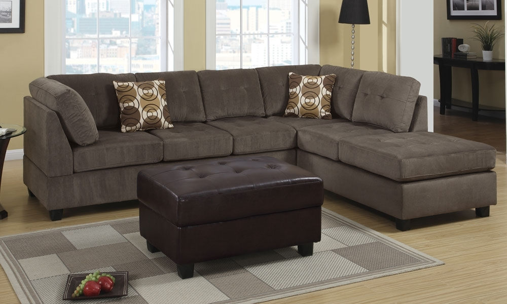 Sofa Beds Design: Awesome Contemporary 3 Seat Sectional Sofa Ideas With Most Popular 2 Seat Sectional Sofas (View 9 of 10)