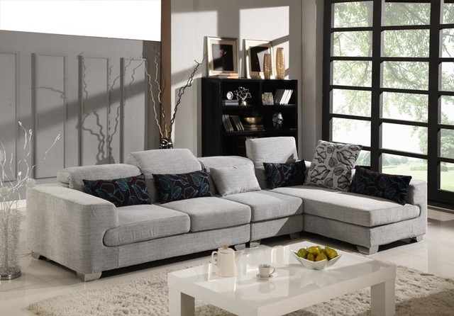 Sofa Beds Design: Stunning Ancient Microsuede Sectional Sofas With Well Known Microsuede Sectional Sofas (View 8 of 10)