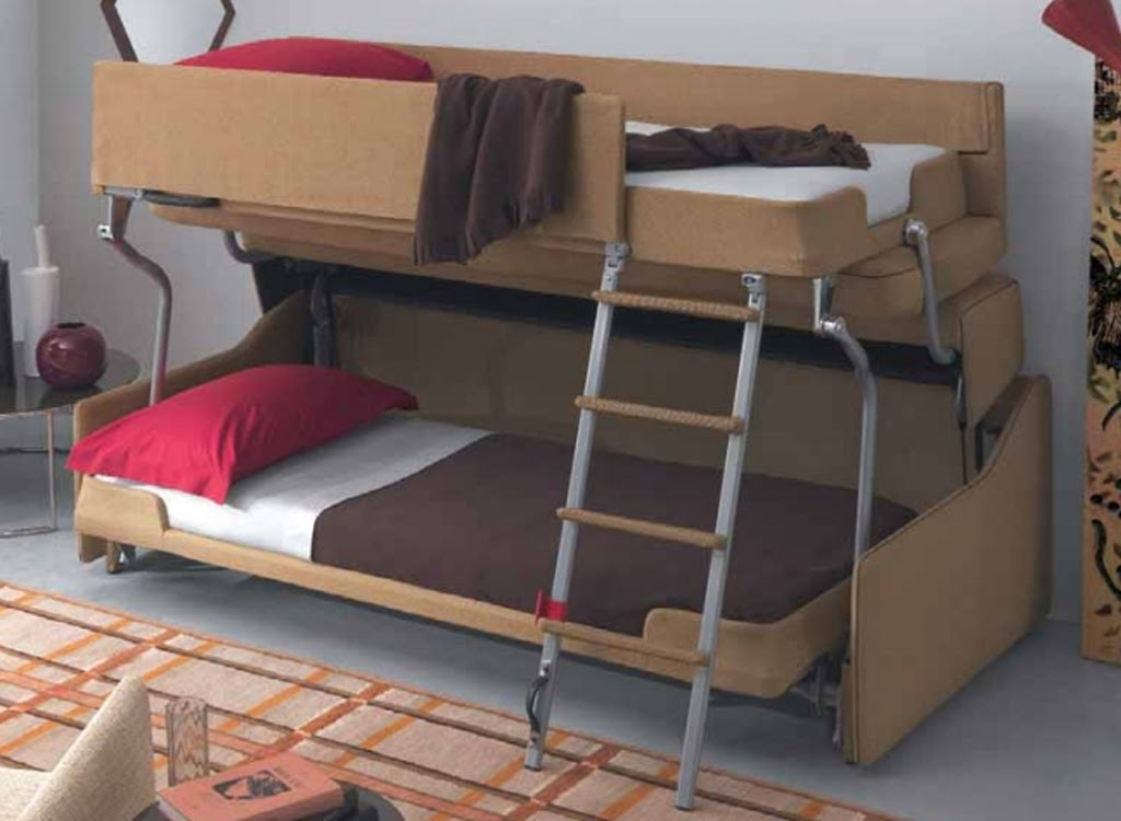 Sofa Bunk Bed Convertible – Youtube Within Famous Sofa Bunk Beds (View 4 of 10)