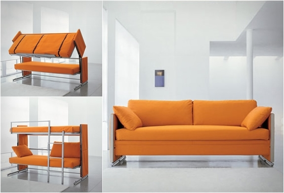 Sofa Bunk Beds With Current Sofa Bunk Bed (View 3 of 10)