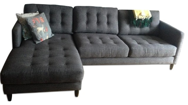 Sofa Chaise Lounges Regarding Most Current Good Couch With Chaise Lounge 71 For Contemporary Sofa Inspiration (View 11 of 15)