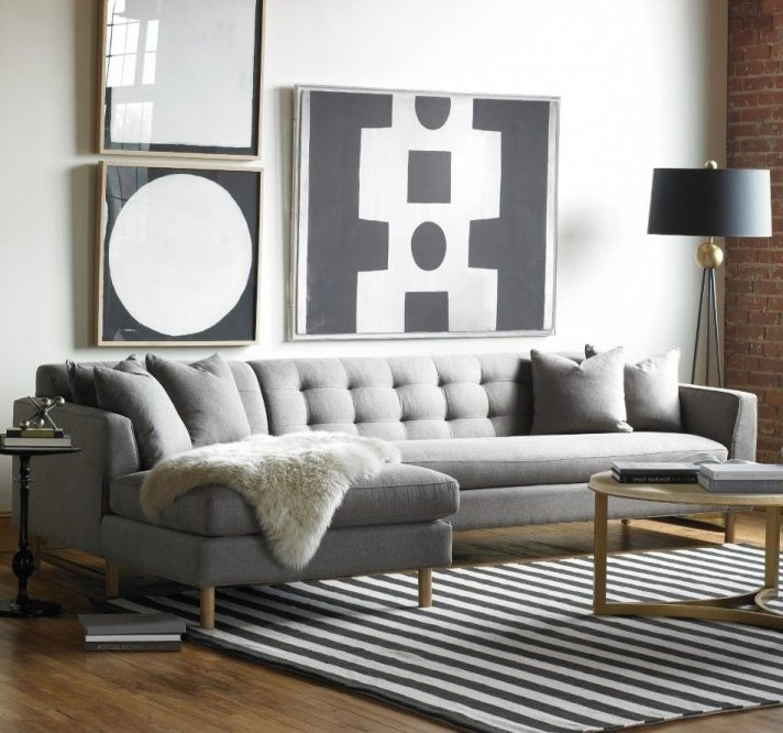 Sofa Designs For Living Room Gray L Shaped Design Long Sofas Home Intended For Favorite Grey Sectionals With Chaise (View 13 of 15)