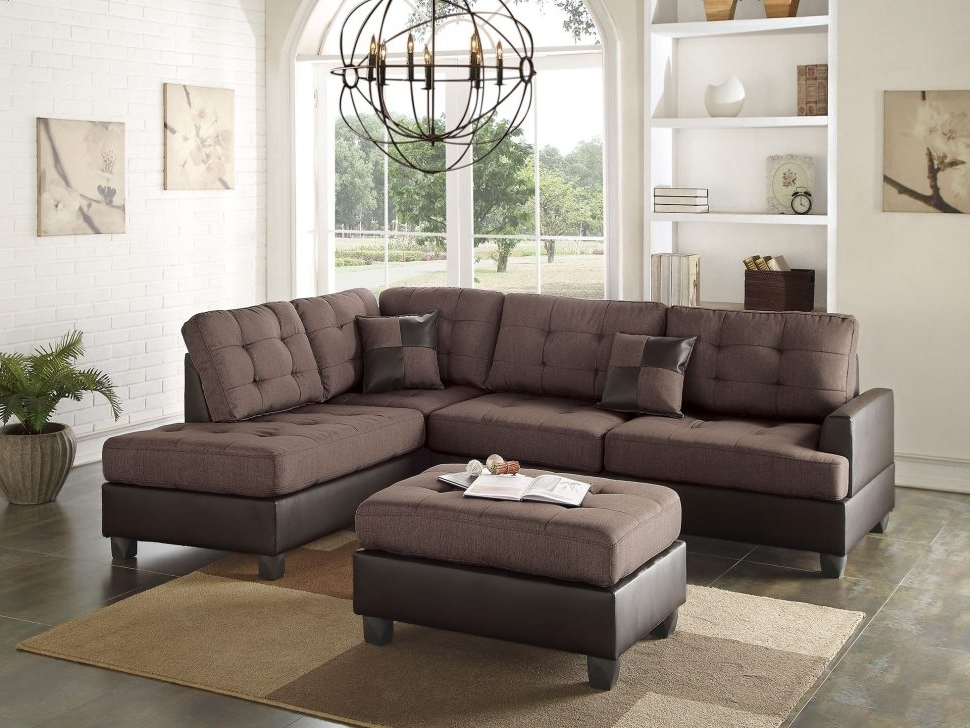 Sofa : Green Sectional Sofa Brown Leather Sectional U Shaped Couch With 2017 Green Sectional Sofas With Chaise (View 8 of 10)