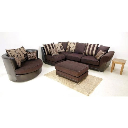 Sofa Inside 3 Seater Sofas And Cuddle Chairs (View 8 of 10)