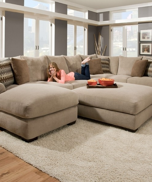 Sofas & Futons Within Best And Newest Deep Sectional Sofas With Chaise (View 13 of 15)