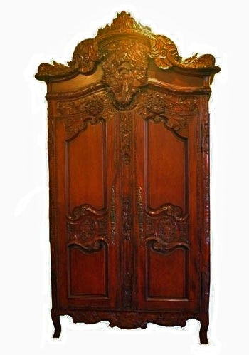 Solid Mahogany Furniture Wardrobes With Rococo Wardrobes (View 10 of 15)