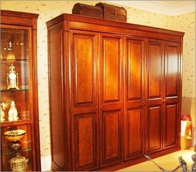 Solid Wood Wardrobe, Solid Wood Wardrobes, Solid Wooden Wardrobe In Newest Wood Wardrobes (View 4 of 15)