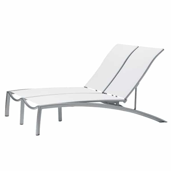 South Beach Sling Chaise Lounge Intended For 2017 Beach Chaise Lounges (View 14 of 15)