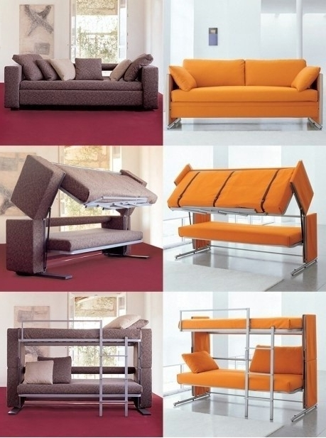 Space Saving Sofa Bed (Gallery 7 of 10)