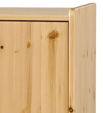 Steens For Kids Pine Low Wardrobe In 2017 Natural Pine Wardrobes (View 3 of 15)