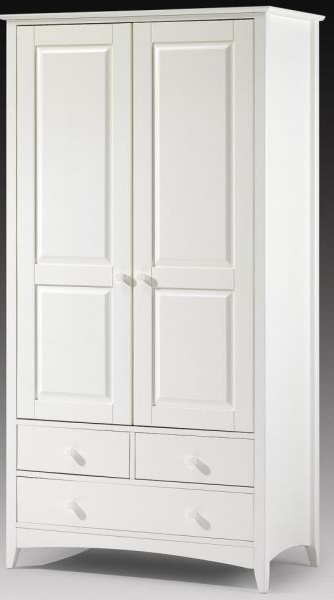 Stone White Cameo Wardrobe – Three Wardrobes To Choose From Intended For Well Known Two Door White Wardrobes (View 10 of 15)