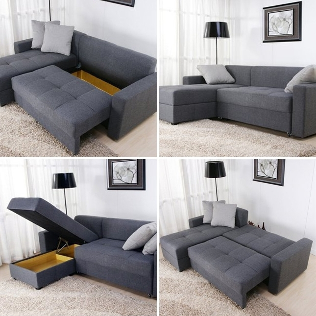 Storage Sectional Sofa – Foter With Well Known Sectional Sofas With Storage (View 8 of 10)