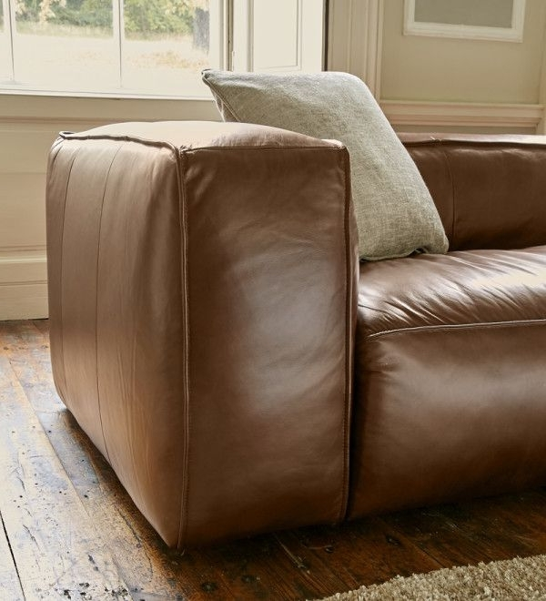 Stratford Sofas Pertaining To 2017 Stratford Leather Sofa Range (View 10 of 10)
