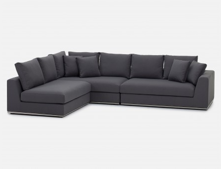 Structube Sectional Sofas Inside Preferred Modern Sectional Sofas – Modular Leather Couches (View 7 of 10)