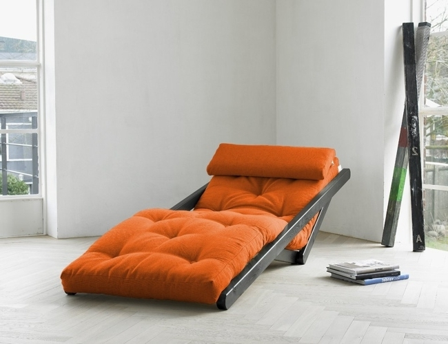Stunning Convertible Chaise Lounge Figo Convertible Futon Chair Throughout Most Recently Released Convertible Chaise Lounges (View 11 of 15)