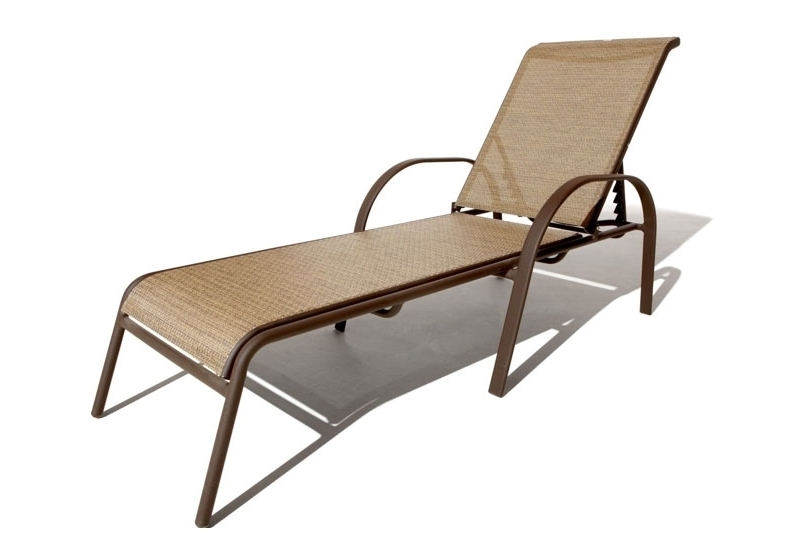 Stunning Mesh Pool Lounge Chairs Outdoor Chaise Lounge Chairs Within Recent Outdoor Metal Chaise Lounge Chairs (View 11 of 15)