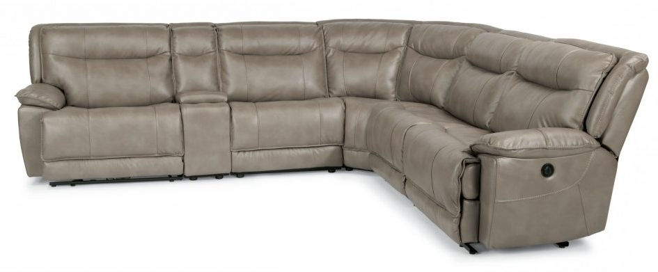 Stylish Reclining Sectional With Chaise Couches And Sofas In 2017 Chaise Couches (View 11 of 15)