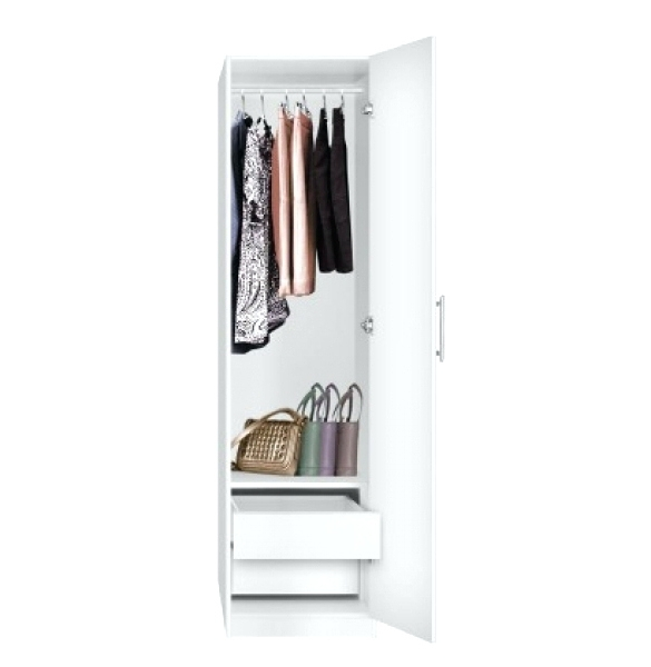 Tall White Wardrobes With Well Known Wardrobes ~ Tall Wardrobes With Drawers Manhattan Double Wardrobe (View 13 of 15)
