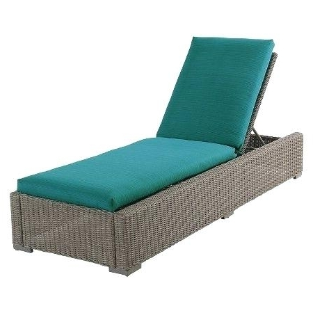 Target Chaise Lounges Within Preferred Target Chaise Lounge Wicker Patio Chaise Lounge Turquoise Target (View 8 of 15)