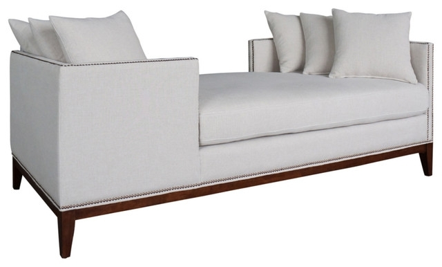 Tatiana Double Chaise Contemporary Indoor Chaise Lounge Chairs In Most Popular Dual Chaise Lounge Chairs (View 14 of 15)