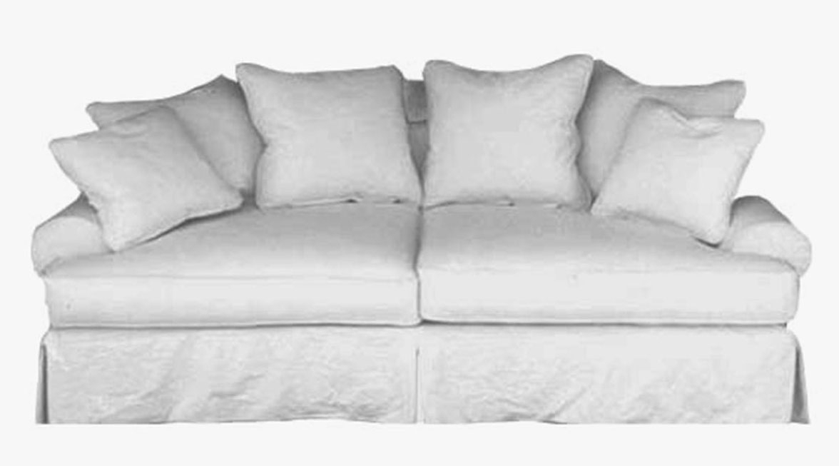 Taylor Scott Collection Slipcovered Upholstered Sofas Contemporary In Preferred Down Filled Sofas (View 6 of 10)