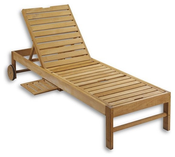 Teak Chaise Lounges Regarding Popular Stylish Pool Chaise Lounge Chairs Teak Chaise Chair Traditional (View 10 of 15)