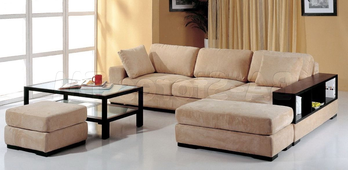 Telus Sectional Sofa In Beige – $1, (View 15 of 15)
