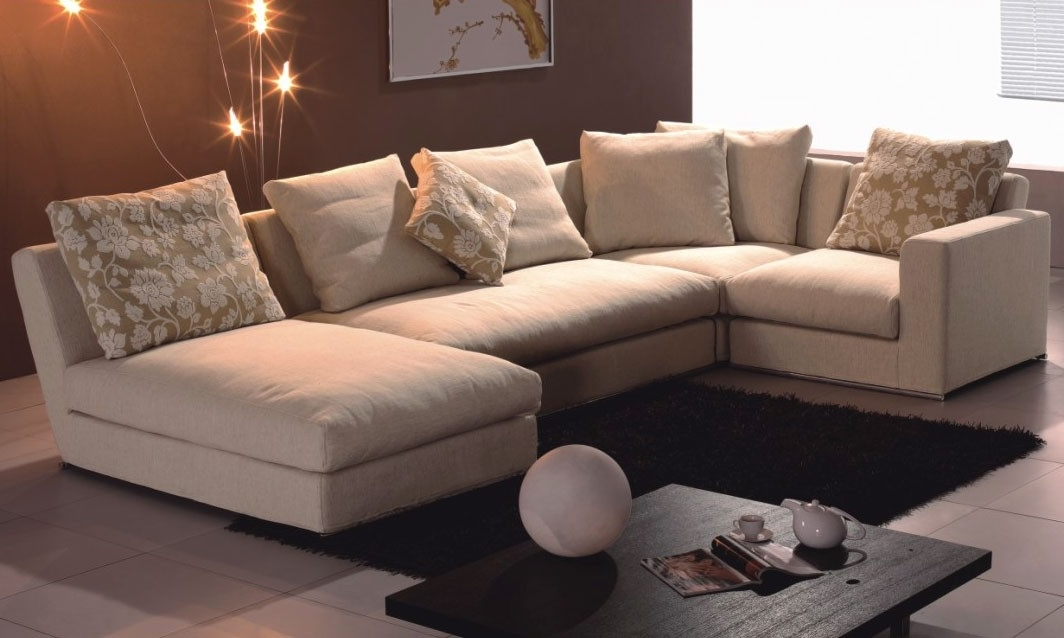 The Brick Sectional Sofas Throughout Fashionable Sofa Beds Design: Stunning Modern The Brick Sectional Sofa Bed (View 9 of 10)