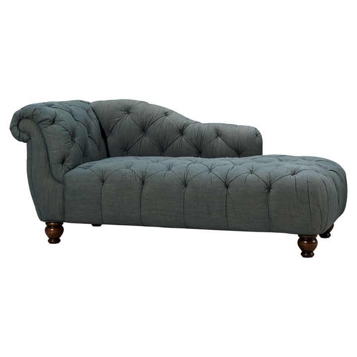 "The Emily & Meritt Denim Chaise (70"") (View 15 of 15)"