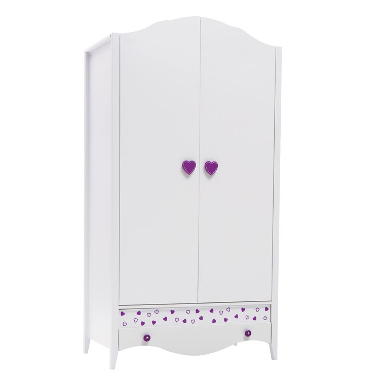 The Princess Wardrobes With 2018 Princess Wardrobe (2 Doors) – Clever Little Monkey (View 11 of 15)
