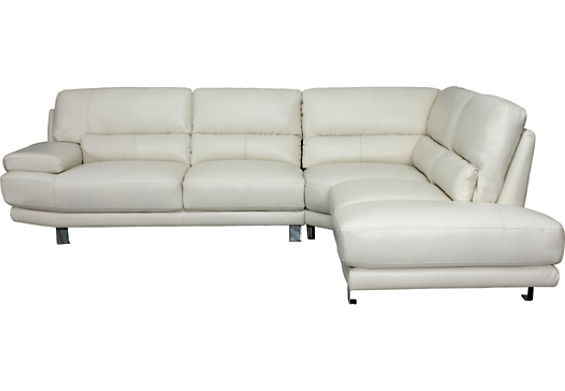 The With Most Current The Brick Leather Sofas (View 7 of 10)