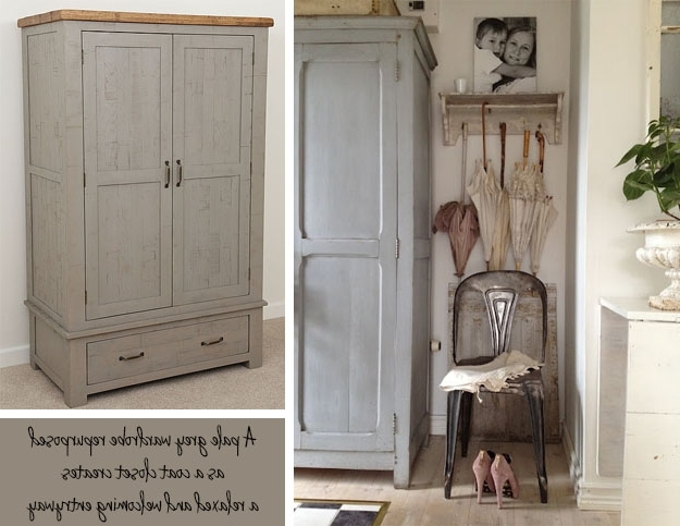 The Within Vintage Shabby Chic Wardrobes (View 12 of 15)