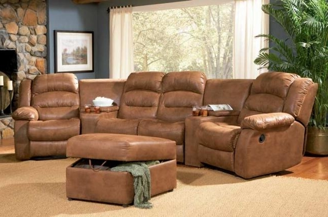 Theater Sectional Sofas Coaster Sofas And Sectionals 500639 Intended For 2017 Theatre Sectional Sofas (View 4 of 10)