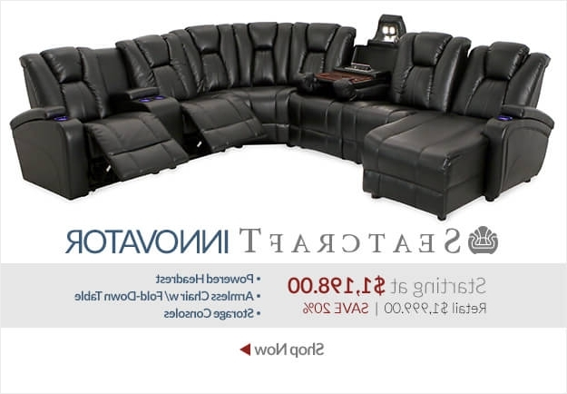 Theater Sectional Sofas Home Theatre Sectional Sofa Centerfieldbar For Well Liked Theatre Sectional Sofas (View 5 of 10)