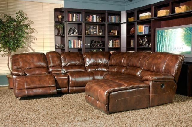 Thomasville Leather In Motion Sectional Rapid City South Dakota Regarding Best And Newest Leather Motion Sectional Sofas (View 7 of 10)