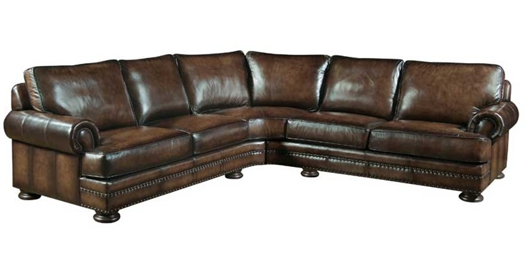 Thomasville Sectional Sofas In Latest Thomasville Leather Reclining Sofa (View 4 of 10)