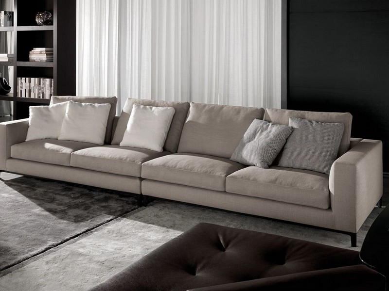 Tips Choosing Extra Long Sofa — Awesome Homes Inside Most Current Long Modern Sofas (View 6 of 10)