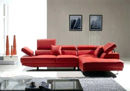 Tosh Furniture Leather Sectional Sofa – Knowbox (View 9 of 10)