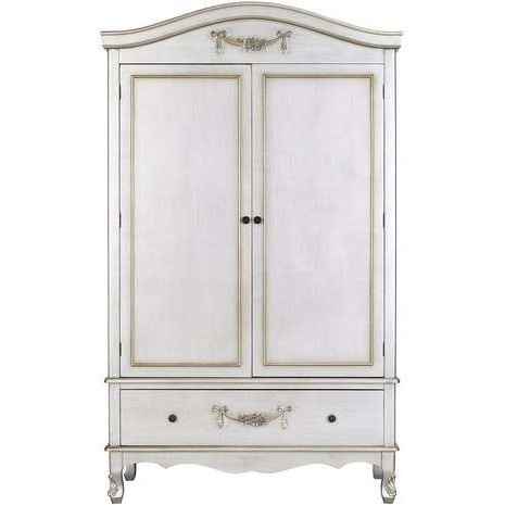 Toulouse, Double Wardrobe And Intended For Trendy Silver Wardrobes (View 14 of 15)
