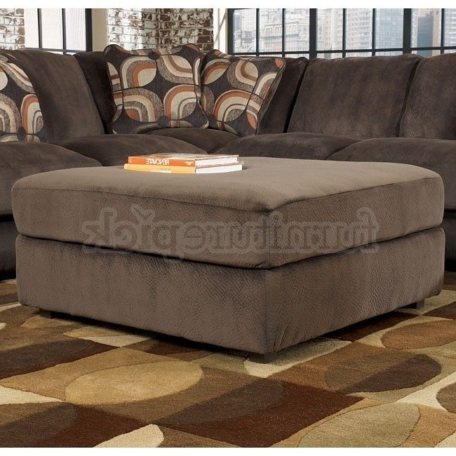 Traditional Large Sectional Sofa With Ottoman Moss 2 Piece Blended With Most Current Couches With Large Ottoman (View 10 of 10)