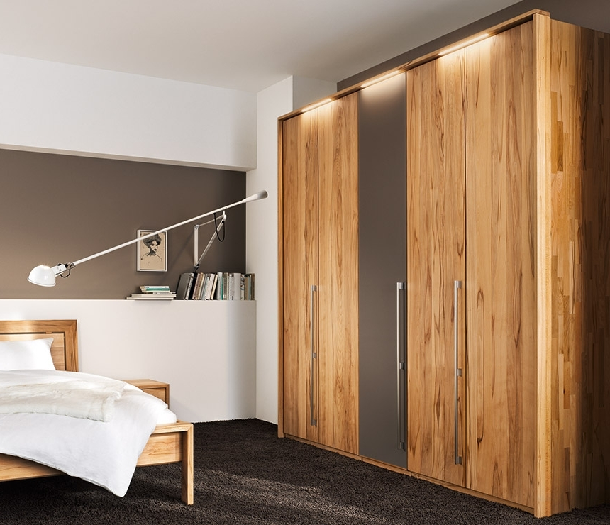 Traditional Luxury Solid Wood Wardrobes – Team 7 Soft At Wharfside With Regard To Fashionable Wood Wardrobes (View 6 of 15)