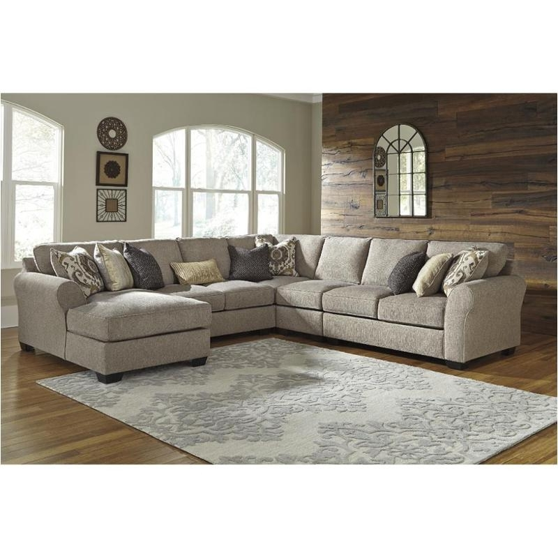 Trendy 3910217 Ashley Furniture Pantomine – Driftwood Raf Corner Chaise With Regard To Ashley Furniture Chaise Sofas (View 13 of 15)