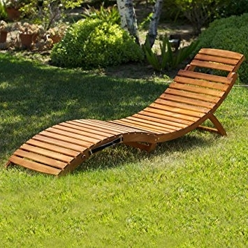 Trendy Amazon : Great Deal Furniture (Set Of 2) Lisbon Outdoor Within Folding Chaise Lounges (View 13 of 15)