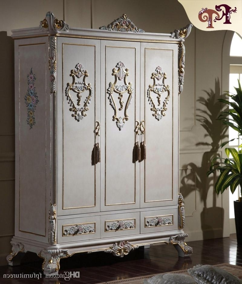Trendy Antique Classic Furniture Baroque Wardrobe Italian Bedroom With Baroque Wardrobes (View 5 of 15)