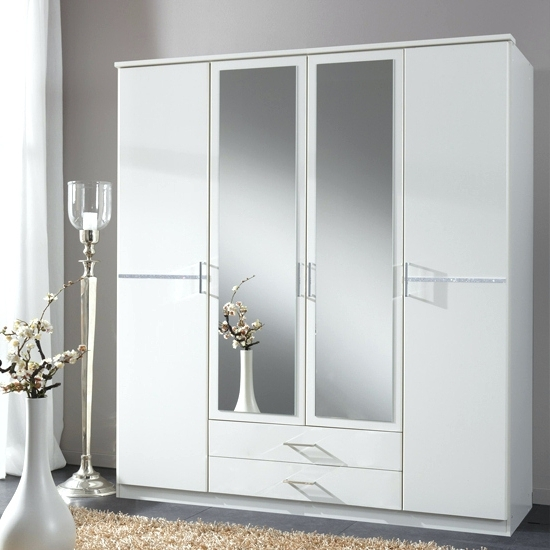 Trendy Cheap Wardrobes With Mirrors With Regard To Wardrobes ~ White Mirrored Wardrobe Doors White Sliding Mirror (View 11 of 15)