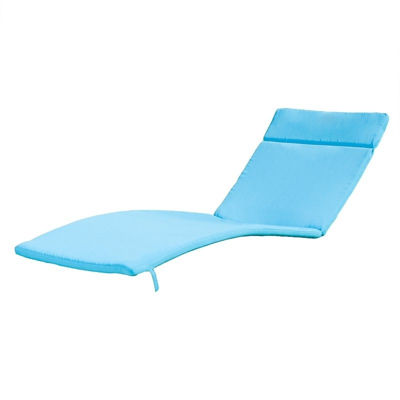 Trendy Christian Down Outdoor Chaise Lounge Cushion & Reviews (View 14 of 15)