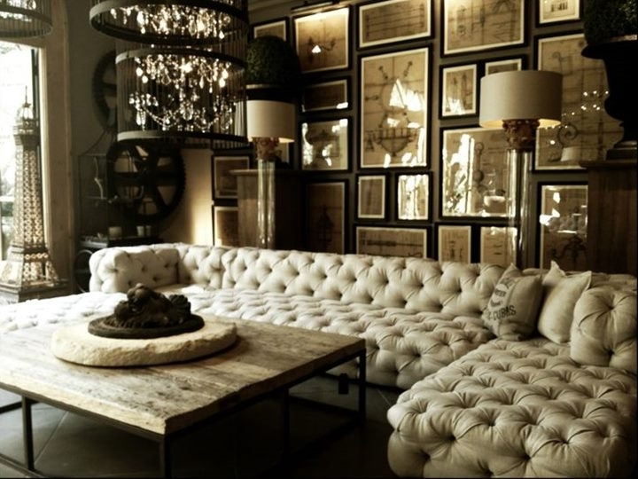 Trendy Classic Sectional Sofa To Make Living Room Elegant – 4 Home Decor With Regard To Luxury Sectional Sofas (View 9 of 10)