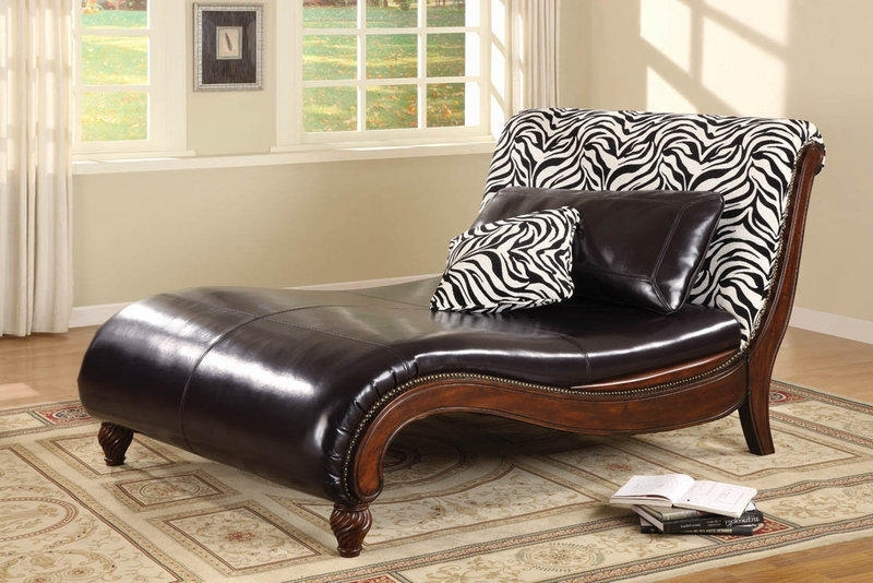 Trendy Contemporary Chaise Lounge – Large Zebra Print Contemporary Chaise Regarding Zebra Print Chaise Lounge Chairs (View 9 of 15)