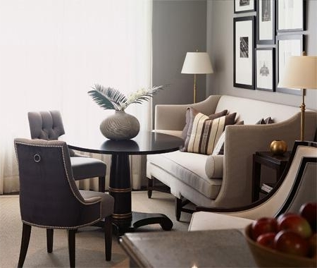 Trendy Dining Sofa Chairs Pertaining To Dining Sofa – Contemporary – Living Room (View 9 of 10)