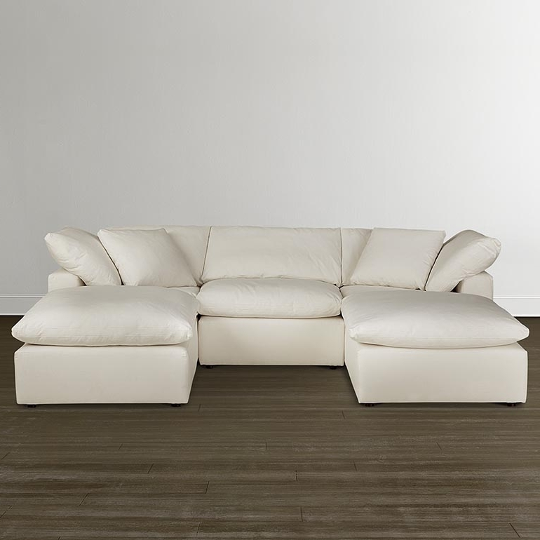 Trendy Double Chaises For Envelop Small Double Chaise Sectional (View 15 of 15)